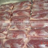 Frozen halal duck breast meat boneless skin-on