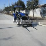 tractor with front end loader, add pallet forklift attachment, 25-55HP diesel engine tractror