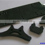 Precision custom made carbon fiber parts for car parts
