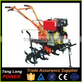 Electric Manual Diesel Tiller Cultivator for Garden Tractor Usage