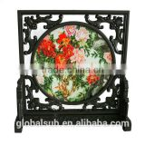 Sublimation Wooden Traditional Chinese Art Photo Frame For Beautiful Homes