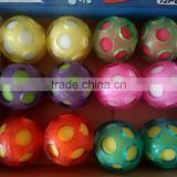 funny sponge TPR bounce ball with many color