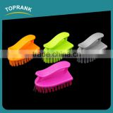 Toprank Factory Cheap Household Clothes Shoe Handle Washing Brush Plastic Laundry Wash Brush With PP Bristle
