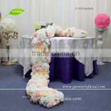 GNW FLW1606001-GAR New 10ft Artificial Flower Table Runners For Party Wedding Decoration