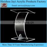 Factory wholesale acrylic cheap speech podium pulpit