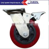 All Size Heavy Duty Adjustable Wheel Fixed Furniture Small Medical Swivel Color PU Casters Wheels