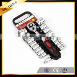 new 2014 tractor manufacturer China wholesale alibaba supplier hand tool 20PCS socket set chrome vanadium