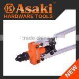 Heavy duty double hand riveter tool