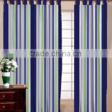 TRADITIONAL COTTON STRIPE WINDOW CURTAIN / 100% COTTON TWILL SHOWER CURTAIN / INDIAN MADE BEST QUALITY DOOR CURTAIN