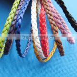Flat Faux Braid Leather Cords String RopeJewelry Beading String For Bracelet & Necklace DIY Jewellry Accessory