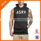 wholesale 100 cotton tank top ,sublimation tank top ,sports bodybuilding hoodies H-961