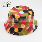Summer outdoor sun protection cap girls fashionable funny fishing bucket hat custom
