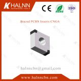 PCBN Insert for hard turning bearings with BN-S20 and BN-H11 CBN Insert from Halnn Tools