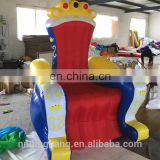 hot sale best quality king throne inflatable chair for kids