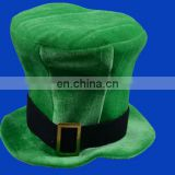 Furry Green St Patricks Day Hat