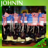 hot sell factory direct party decorations custom toothpick flag