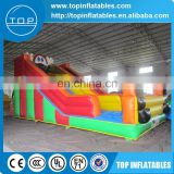 Cheap pvc inflatable water slides