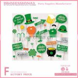 2017 New Adult Design Green Paper Promotional Funny Photo Booth Props For Festival