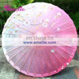 A6282 Pink spring theme paper umbrella