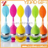 100% food grade silicone tea infuser with newly design .