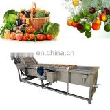 Stainless Steel Brush CleaningMachine vegetable cleaning machine
