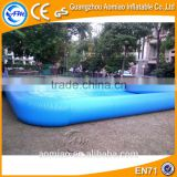 Funny inflatable pool table soccer custom inflatable deep pool float