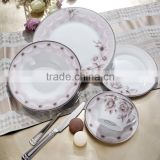 30 pcs new bone china porcelain dinner set with stainless fork and knives new bone china dinner set wholesale from china tablew