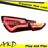 AKD Car Styling Hyundai Sonata LED Tail Light 2012 Sonata8 Tail Lights Sonata YF Rear Trunk Lamp DRL+Turn Signal+Reverse+Brake