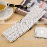 High-end 2016 new arrival mini folding keyboard wireless bluetooth 4.2 for universal smartphone, windows pc, tablets