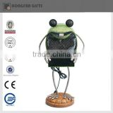 metal frog animal mini fan