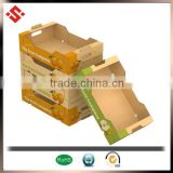 2015 PP corrugated fruit tray, fruit corrugated box