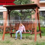 2 seat swing chair,wooden hanging chair,outdoor rocking chair