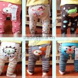 Cartoon Printed Baby Pants Legs Toddler Warmer Tights