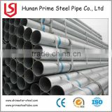 Factory price galvanized steel pipe stair handrail for indoor step