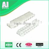1880/1.26 inch plastic conveyor chains assembly line equipment