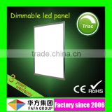 Factory dimmable SMD2835 silicon control dimmable led panel 600x600 with 3 years warranty