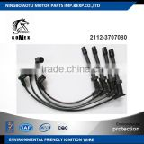 High voltage silicone Ignition wire set, ignition cable kit, spark plug wire 2112-3707080 for LADA GAZ
