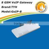 Promotional!call terminal voip gsm gateway 8 sim card,gsm fax gateway