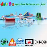 2015 Hotsale water park equipment for sale, cheap Inflatable Water Park
