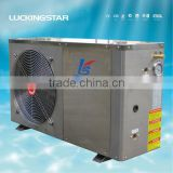 EVI Air to Water High COP Heat Pump for low Temperature(EN14511,CE,efficient in -25degree, Copeland ZW series)