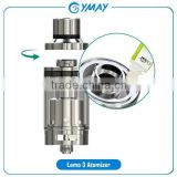 Eleaf Factory price Eleaf Lemo 3 Atomizer With RTA Base RDA Base Changeable