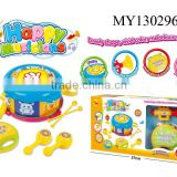Fashional Baby Musical Drum set Toy, Musical Instrument round Drum play set