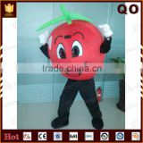 Funny custom red apple mascot costumes fruit costume