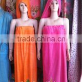Factory cheap antibacterial bamboo bathrobe wholesale