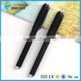 Wholesale cheap office school student black promotional gel ink pen