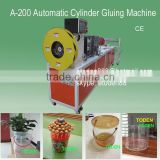 cylinderical boxes cylinder bottom ultrasonic welding machine,PET Cylinder making machine