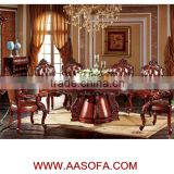 traditional wood carved dining set,antique wooden dining room                                                                         Quality Choice