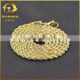 good quality fashion jewelry for boys stainless steel rope chain necklace                                                                                                         Supplier's Choice