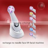 Portable Led EMS Electroporation Fractional Radio Frequency Beauty Device