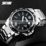 Fashion wholesale price business men quartz stainless steel watch water resistant best gifts father's day #0992S